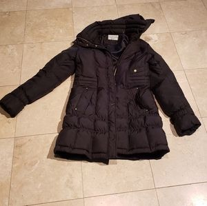 Cole Haan Puffer Down Coat - S - Black
